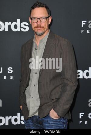 Los Angeles, CA, USA. 5th Mar, 2014. Matthew Lillard at arrivals for BAD WORDS Premiere, The Cinerama Dome at Arclight - Stock Photo