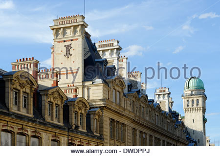 France, Paris, 5th arrondissement, Sorbonne, university - Stock Photo