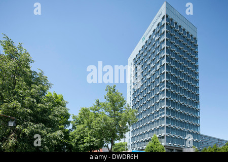 Germany, Bavaria, Munich, View of the Fraunhofer Society headquarters - Stock Photo