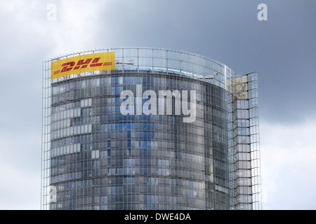 Post Tower building, Deutsche Post DHL headquarters, Bonn, Germany. Stock Photo