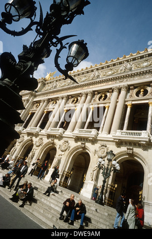 Paris. France. Opéra National de Paris Garnier. 9th Arrondissement. - Stock Photo