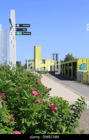 View Tube A Cafe With Views Of The Queen Elizabeth Olympic Park Community Arts
