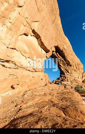 North Window, Arches National Park, Moab, Utah USA - Stock Photo