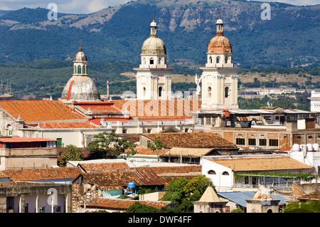 Cathedral Nuestra Senora de la Asuncion, Santiago de Cuba - Stock Photo