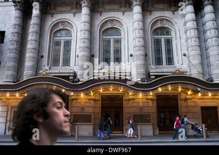 Lyceum Theater in Midtown West and Theater District. 149 West 45th Street between 6th Ave and 7th Ave Telephone - Stock Photo