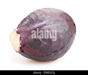 red cabbage isolated - Stock Photo