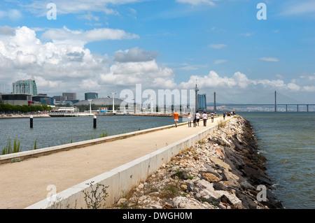Parque das Nacoes, Lisbon - Stock Photo