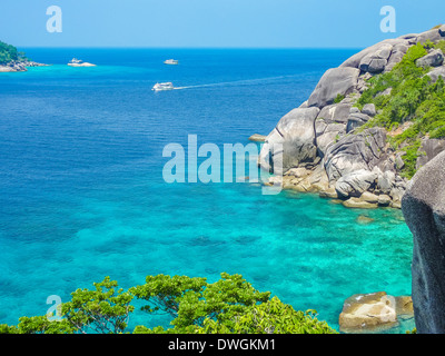 Similan Island Beach View, Koh Eight, Thailand - Stock Photo