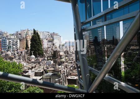 Buenos Aires, Recoleta cemetery - Stock Photo