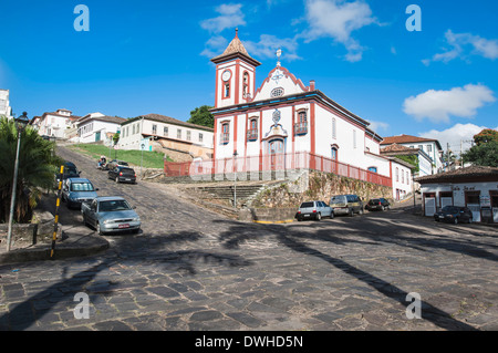 Sao Francisco de Assis Church, Diamantina Stock Photo