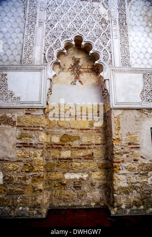the ancient synagogue in the Jewish Quarter (Judios ), Cordoba, Andalucia, Spain - Stock Photo