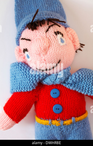 Noddy Doll Knitting Pattern : Woollen Doll Stock Photo, Royalty Free Image: 43195506 - Alamy
