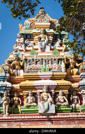 Hindu Gods Temple Figures Religion Indian Singapore Gods