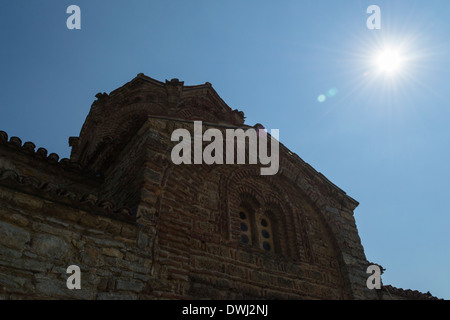 Church of St. John at Kaneo, Ohrid, Macedonia - Stock Photo