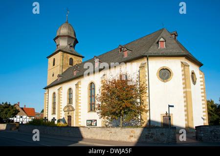 St Cosmas and Damian, Bad Salzdetfurth - Stock Photo