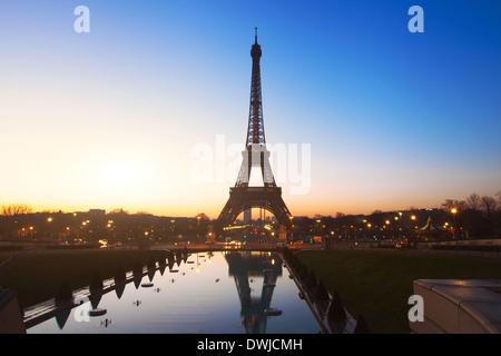 night in Paris - Stock Photo