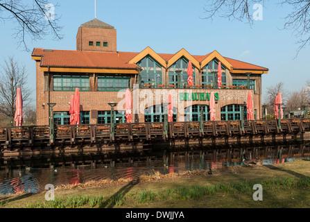 Brewpub 'Brauhaus Zeche  Jacobi' at Centro Oberhausen, NRW, Germany. - Stock Photo