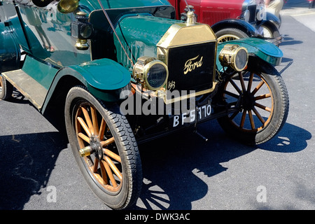 Model T Ford Motorcar Front View - Stock Photo