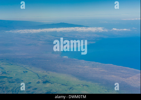 Aerial of Maui, Hawaii, United States of America, Pacific - Stock Photo