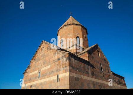 Khor Virap Armenian Apostolic Church monastery, Ararat Plain, Yerevan, Armenia, Central Asia, Asia - Stock Photo