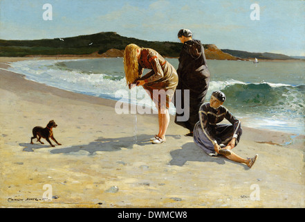Winslow Homer - Eagle Head, Manchester, Massachusetts : High Tide - Stock Photo