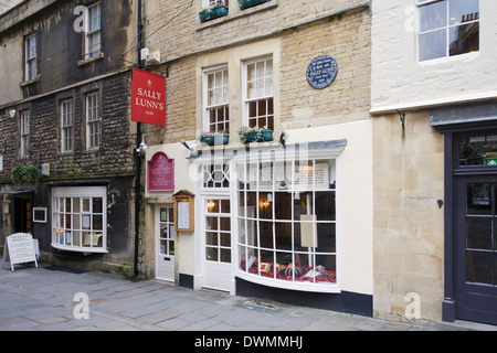 Sally Lunns tea room, Bath, England - Stock Photo