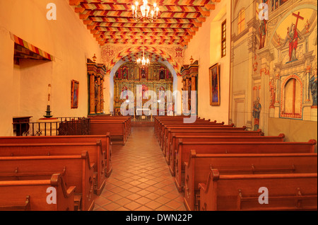Mission Delores, San Francisco, California, United States of America, North America - Stock Photo