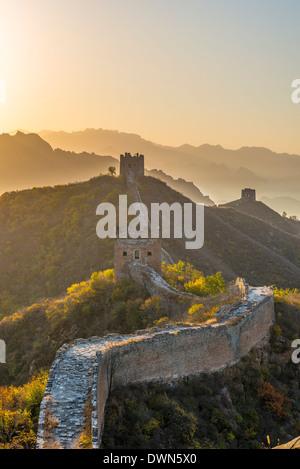 Great Wall of China, UNESCO Site, looking towards Simatai, Jinshanling, Luanping County, Hebei Province, China