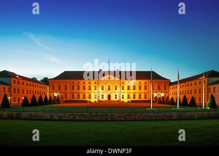 Schloss Bellevue Palace, official residence of the German Federal President, Tiergarten, Berlin, Germany - Stock Photo