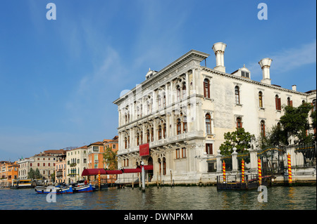 Casino di Venezia, Marcuola, Grand Canal, Cannaregio, Venice, Veneto, Italy - Stock Photo