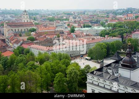 Old town, Vilnius - Stock Photo