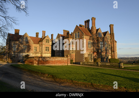 Breamore manor house located north of Fordingbridge in Hampshire, England, UK - Stock Photo