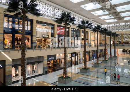 Mirdif City Centre shopping mall in Dubai United Arab Emirates - Stock Photo