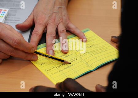 Consultation vaccine - Stock Photo