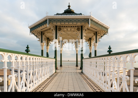 Bandstand, Brighton Beach - Stock Photo