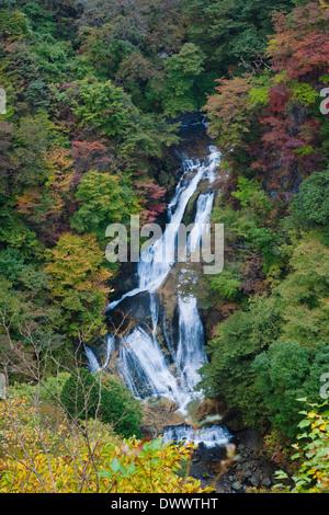 Nikko in autumn, Tochigi, Japan - Stock Photo