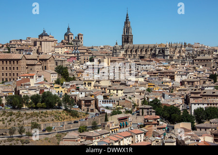 The city of Toledo in the La Mancha region of central Spain. - Stock Photo
