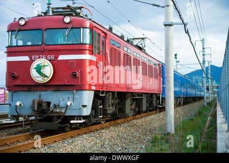 Fuji Hayabusa Express - Stock Photo