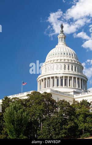 United States Capitol Building, Washington, DC - Stock Photo