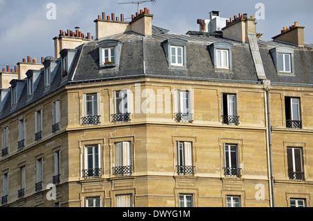 a beautiful house facade - Stock Photo