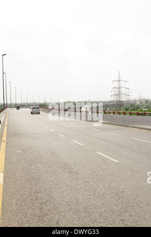 Indian freeway flyover - Stock Photo