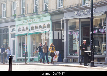Montpellier Walk in Cheltenham, UK - Stock Photo