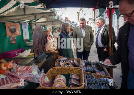 Aberystwyth Wales UK, Saturday 15 March 2014 