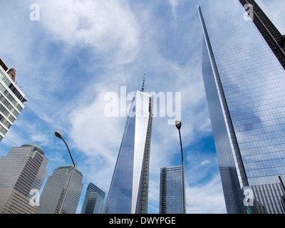 The new One World Trade Centre at Ground Zero New York 19 Stock Photo