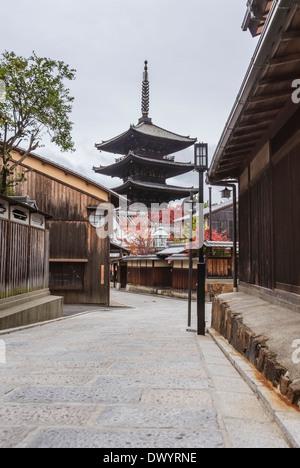 Shrine in Kyoto, Japan - Stock Photo