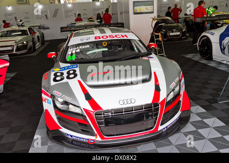 Audi LMS Cup 2013 Pit Work Shop - Stock Photo
