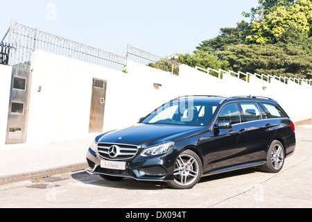 Mercedes-Benz E-Class Avant 2013 Model with new facelift look. - Stock Photo