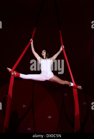 Circus performers - Stock Photo