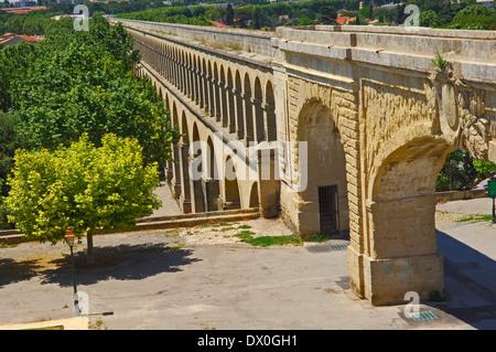 Aqueduc de Saint-Clement, Montpellier - Stock Photo