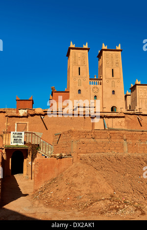 The Glaoui Kasbah's of Tamedaght in the Ounilla valley, Morocco - Stock Photo